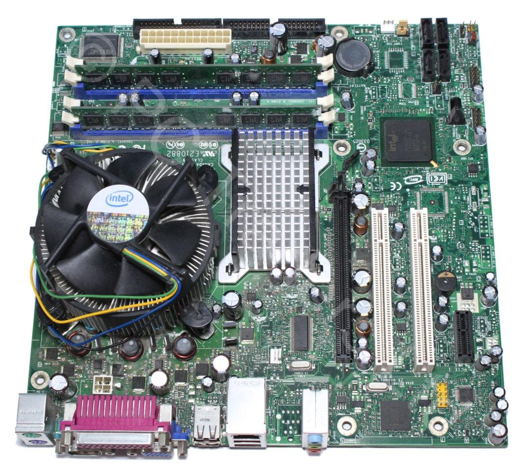 motherboard bundle intel dq945gtp intel pentium 4 630 2gb. Black Bedroom Furniture Sets. Home Design Ideas