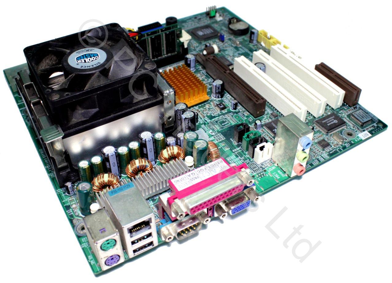 motherboard bundle gigabyte ga 8simlnf intel celeron 2. Black Bedroom Furniture Sets. Home Design Ideas